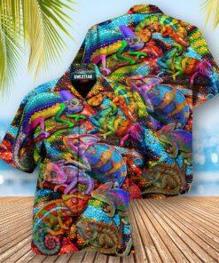 Animals My Lizard Really Looks Up To Me Edition - Hawaiian Shirt
