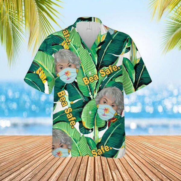 Bea Safe Dorothy The Gold-en Girls Hawaiian Aloha shirt