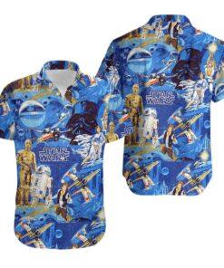 Classic Star Wars Hawaiian Aloha shirt