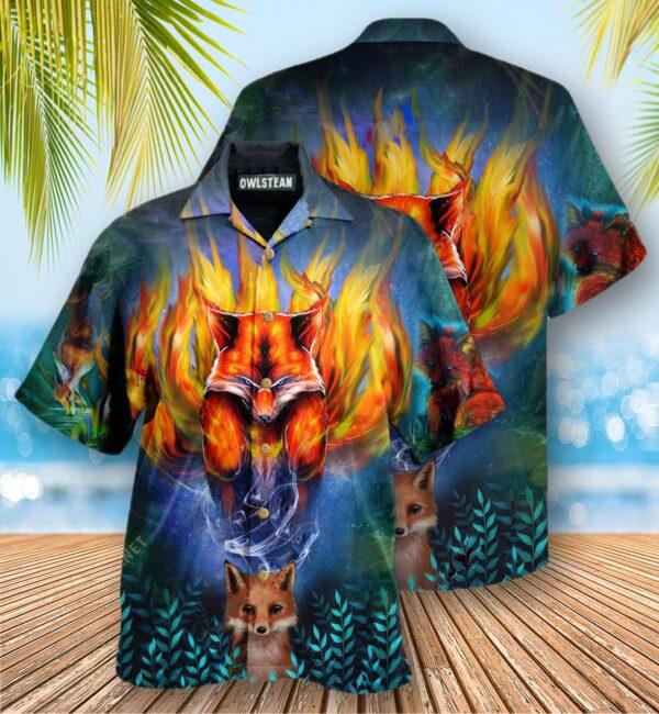 Fox Mythical Nine Tailed Edition - Hawaiian Shirt
