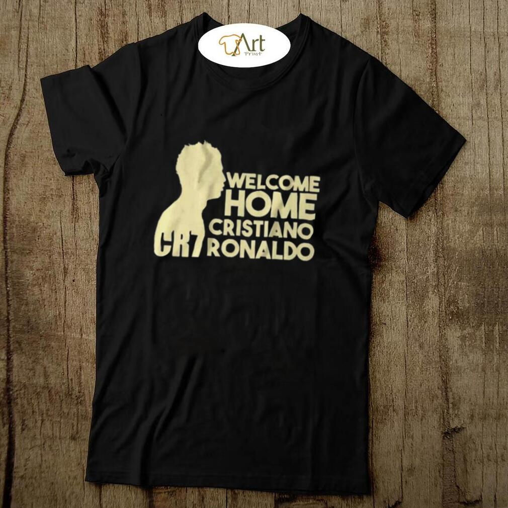 Cristiano Ronaldo Welcome To Manchester United CR7 T Shirt