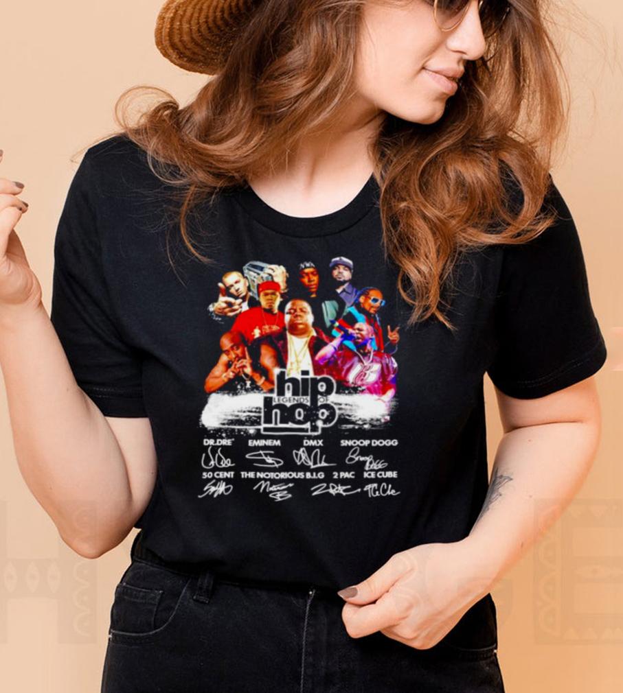 Hip Legends Of Hop signatures shirt