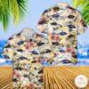 Airwolf Hawaiian Shirt Beach Shorts