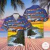 Allegiant Air Airbus A319 112 Hawaiian Shirt Beach Shorts
