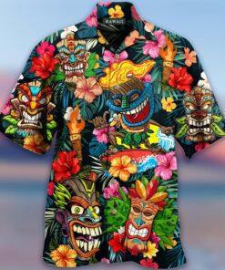 Aloha Tiki Tiki Awesome Hawaiian shirt 1