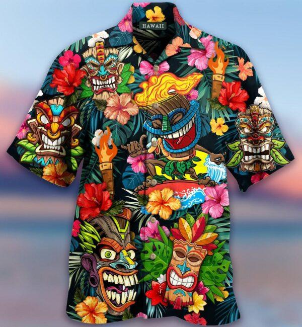 Aloha Tiki Tiki Awesome Hawaiian shirt