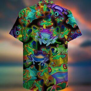 Amazing Frogs And Mushrooms Hawaiian ShirtSS