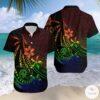 Amazing Polynesian Frangipani And Tattoo Hawaiian Shirt