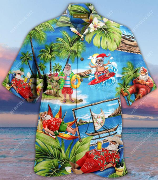 Amazing Santa Claus Unisex Hawaiian Shirt