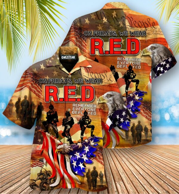 America My Patriotic Heart Beats Edition Hawaiian Shirt