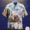 America Veteran Freedom Hawaiian Shirt