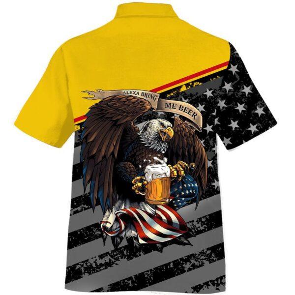 American Eagle Alexa bring me Beer Hawaiian Shirts