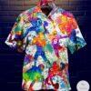 American Football Watercolor Hawaiian Shirt