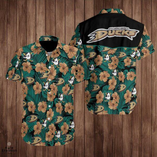 Anaheim Ducks Nhl Ice Hockey Sports Cool Hawaii Shirt