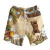 Bear And Beer Hawaiian Shirt And Shorts