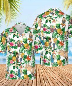 Beavis-and-Butt-Head Hawaiian Aloha shirt