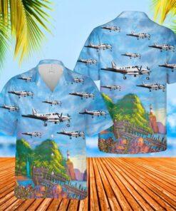 Beech King Air 90 Hawaiian Shirt And Short