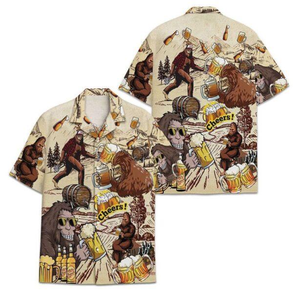 Bigfoot Beer Hawaiian Shirts