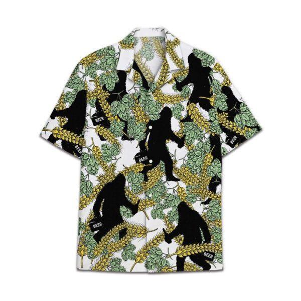 Bigfoot Beer Hawaiian TShirts