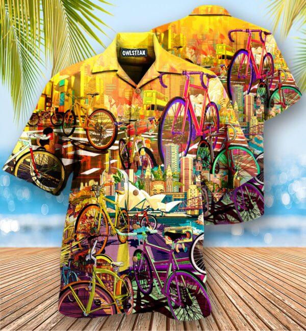 Bike Can Take Me Anywhere Edition - Hawaiian Shirt