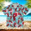 Deadpool Summer Movie Superhero Marvel Hawaii Shirt
