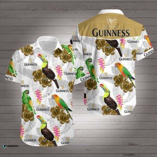 Ets 1759 Guinness Beer Drink Bar Club Party Hawaiian Shirt