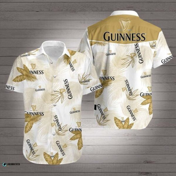 Guinness Beer Drink Bar Club Party Hawaii Shirt