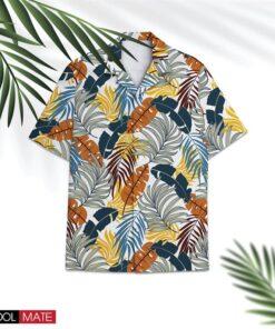 Hawaiian Shirt Tropical All Over Print Coconut Leaves Unisex Aloha Shirts