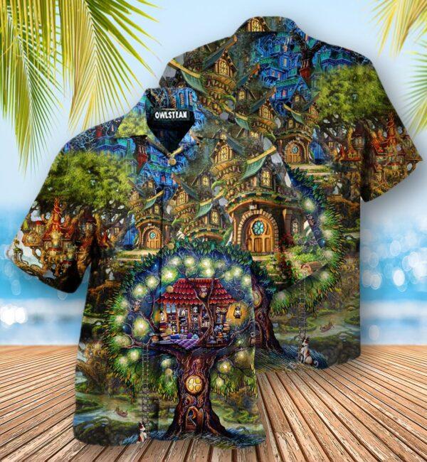 Hippie My Dream Treehouse Edition - Hawaiian Shirt