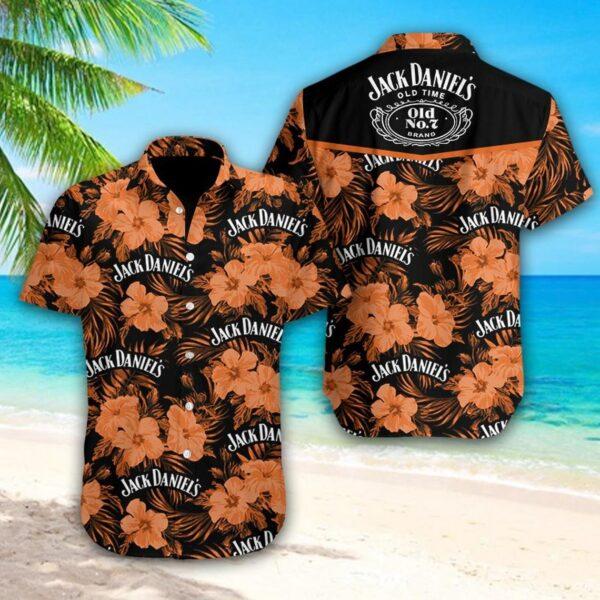 Jack-Daniel's Wine Hawaiian shirt, Wine Lover Shirt