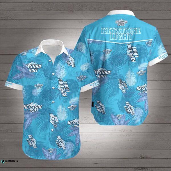 Keystone Light Beer Drink Bar Club Party Team Hawaii Shirt