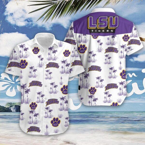 LSU-Tigers Football Hawaiian Aloha shirt