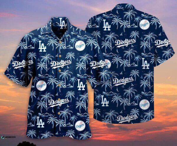 Los Angeles Dodgers 01 Mlb Baseball Sports Hawaiian Shirt