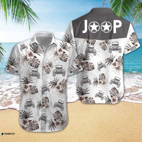 Love Jeep Car Cartoon Logo Family Hawaii Shirt