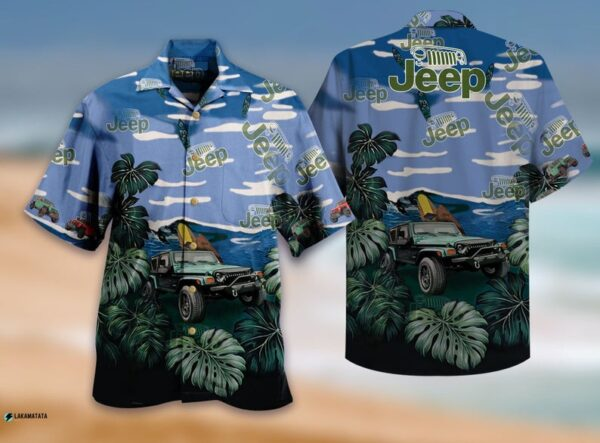 Love Jeep Car Jeep Drivers Owners Jeep Girls Hawaiian Shirt