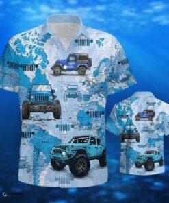 Love Jeep V2 Car Hawaiian Shirt For Jeep Drivers