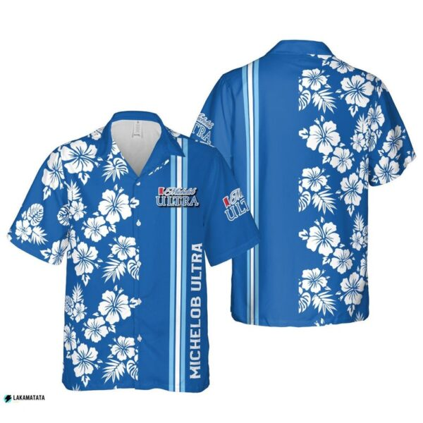 Michelob Ultra Beer Drink Party Bar Club Team Cool Hawaii Shirt