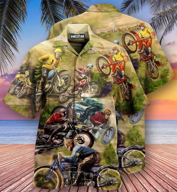 Motorcycle Is My Therapy Edition - Hawaiian Shirt