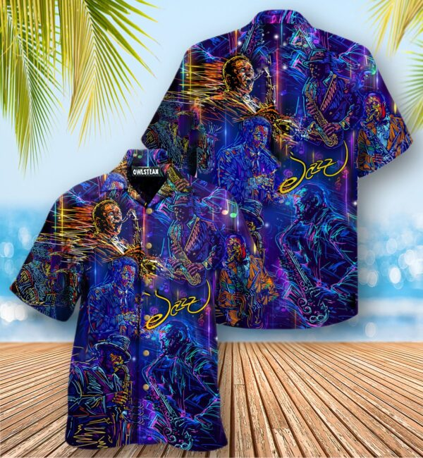 Music Never Underestimate An Old Man With A Saxophone Edition - Hawaiian Shirt