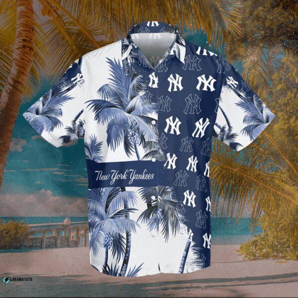 New York Yankees Mlb Baseball Sports Logo Cool Hawaii Shirt