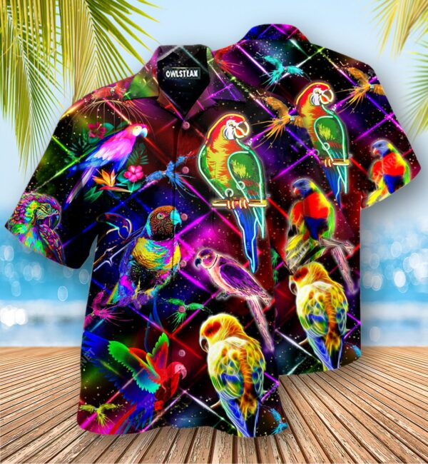 Parrot Never Take Your Unique Features For Granted Edition - Hawaiian Shirt