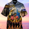 Remember The Days Veteran Unisex Hawaiian Shirt
