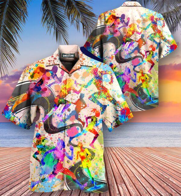 Run No Rules Just Run Edition Hawaiian Shirt