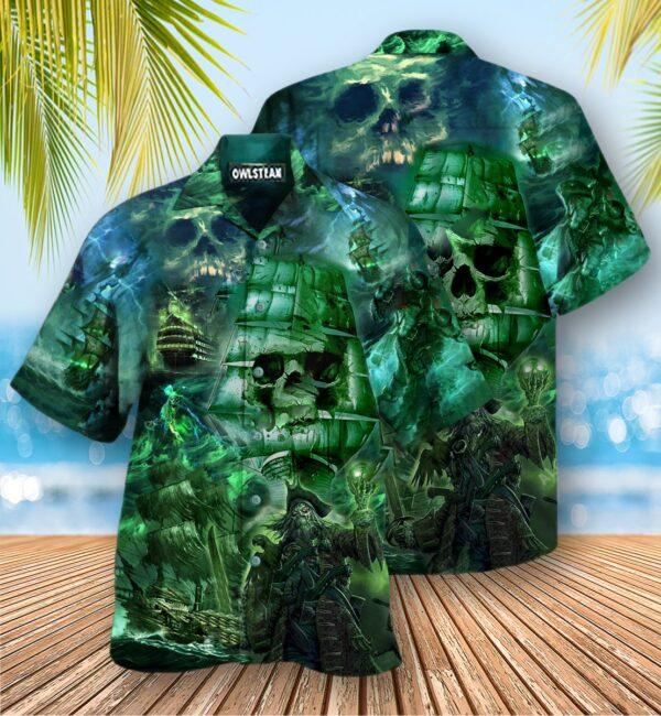 Ship Mystery Of Ghost Ship Edition Hawaiian Shirt