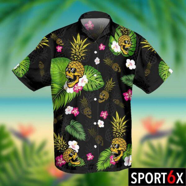 Skull Pineapple Hawaiian Aloha shirt Skull Lover Shirt