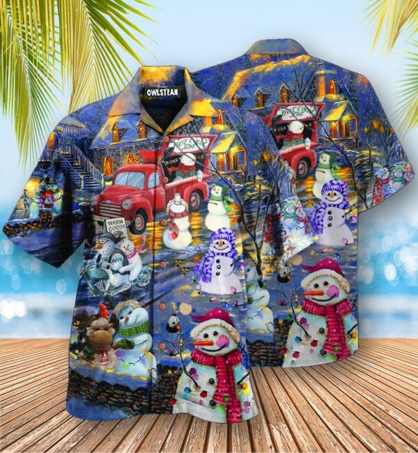 Snowman My Love For You Will Never Me lt Edition Hawaiian Shirt