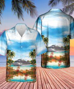 US Cruise Ship Hawaiian Shirt