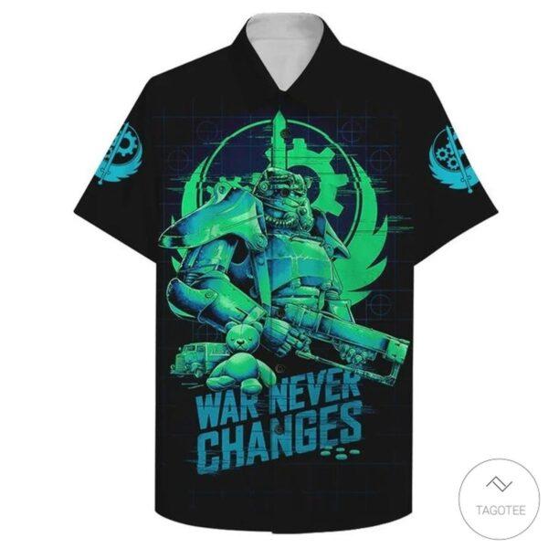 allout 3 War Never Changes Hawaiian Shirt