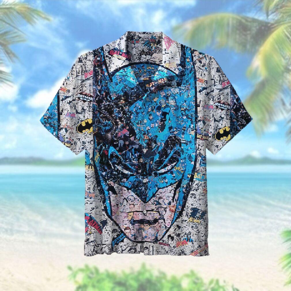 All Batman and Robin scene Hawaiian Hawaiian Shirt
