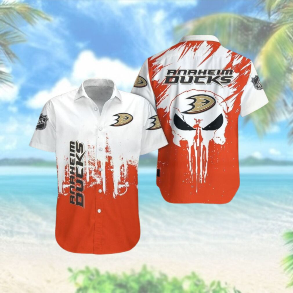 Anaheim Ducks Limited Edition Button Down Hawaiian Shirt